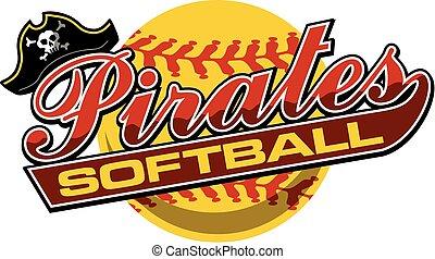 海賊, ソフトボール
