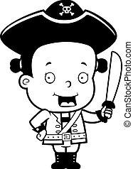 海賊, 子供