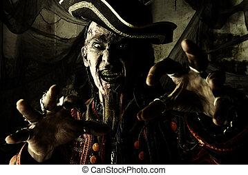 海賊, 激怒