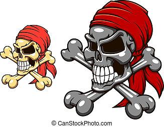 海賊, 頭骨 crossbones
