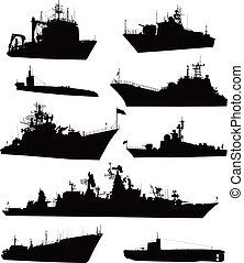 海軍, セット