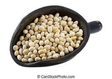 海軍, 大さじ, 白い豆