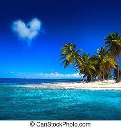 海邊, 藝術, beautifu, 背景, 看法