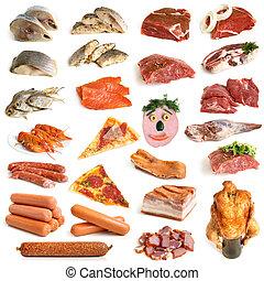 海鮮, 肉, 彙整