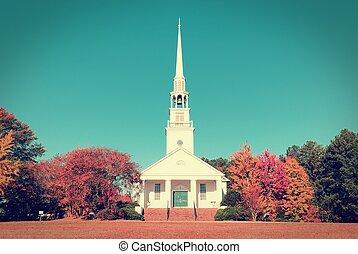 浸禮會教友, 南方, 教堂