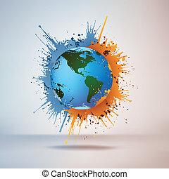 涂描, 全球