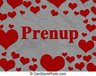 消息, 心, prenup, 邊框, 紅色