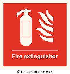 消火器サイン
