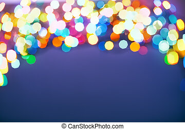 消灯, フォーカス, クリスマス
