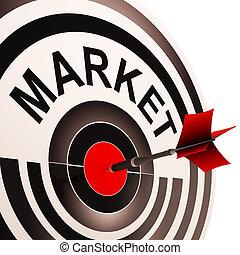 消費者, 目標とすること, 標的市場, 手段