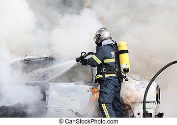 消防士, 仕事