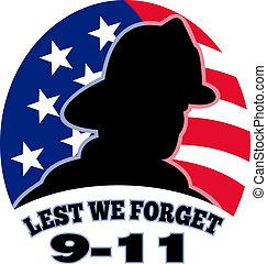 消防士, 9-11, アメリカ人, 消防士