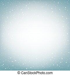 淡いブルー, 雪, 背景