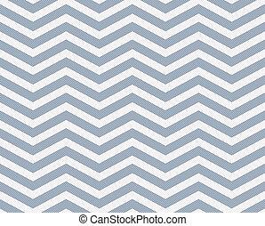 淡藍, 以及, 白色, 之字形, textured, 織品, 背景