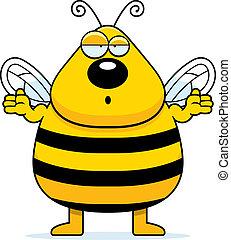 混乱させられた, 蜂