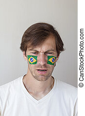 混乱, ブラジル人, ファン, スポーツ