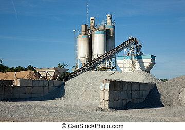 混凝土, 制造, 加工厂