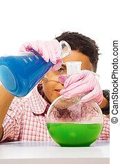 混合の化学薬品