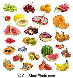 混合, 彙整, 水果
