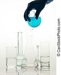 混合, 物質, 実験室