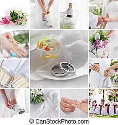 混合, 結婚式