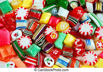 混合, 鮮艷, 糖果