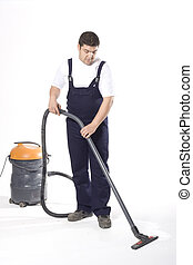 清掃, 床, ∥で∥, 機械
