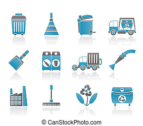 清掃, 産業, 環境