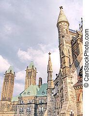 渥太華, 塔, ......的, 加拿大議會, 可以, 2008