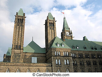 渥太華, 塔, ......的, 議會, 2008