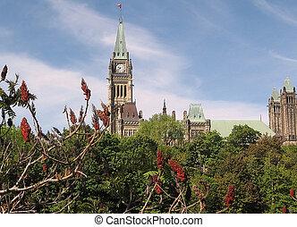渥太華, 議會, 中央, 部份