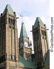 渥太華, 議會, 塔