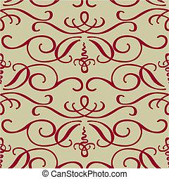 渦巻パターン, ベクトル, seamless