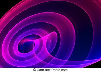 渦巻, 抽象的