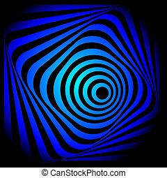 渦巻, 抽象的, image., カラフルである
