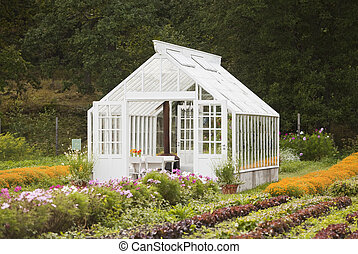温室, すてきである