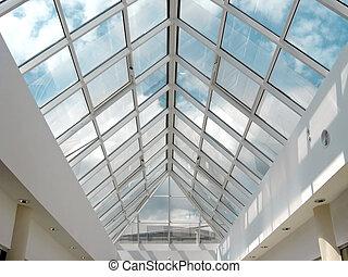 温室, ステンドグラス