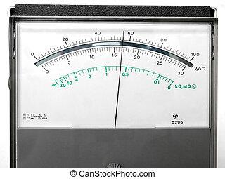 測定している装置
