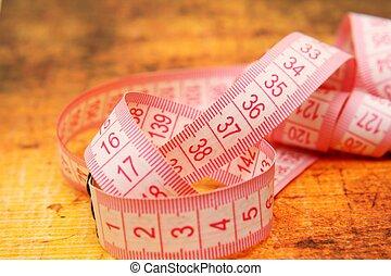 測定, テープ