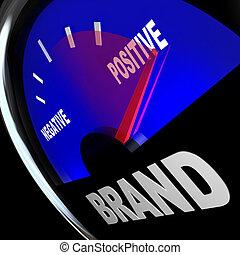 測量, 印象, 商標忠心, 量規, 反應, 身分