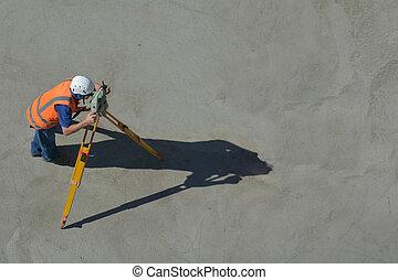 測量, 土地