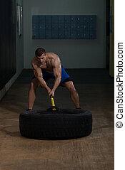 測驗, 拖拉机, 錘子, 體操, 輪胎
