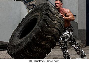 測驗, 輪胎