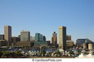 港口, 內部, 巴爾的摩