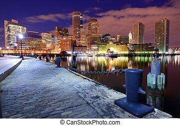 港口, 波士頓