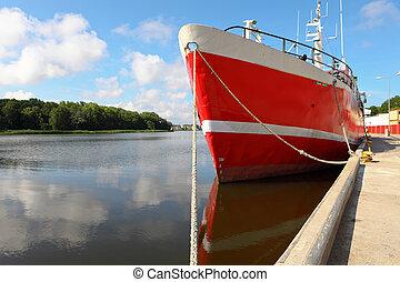 港口, 漁船