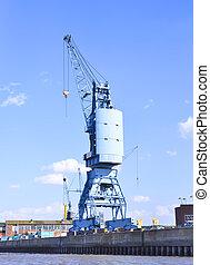 港口, 造船厂, 起重機