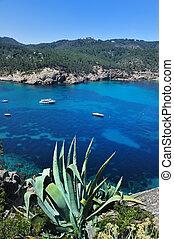 港口, de, sant, miquel, ibiza, 西班牙