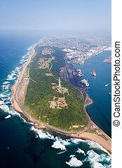 港, アフリカ, ダーバン, 南