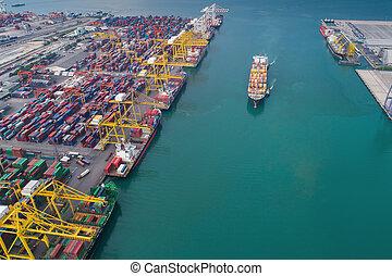 港, ロジスティックである